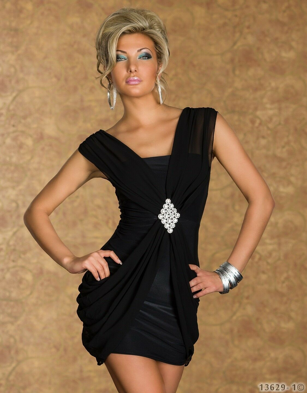 Sexy elegantes Kleid Minikleid Trägerkleid    Kleid Minikleid 34 36 S Schwarz     | Good Design  | Qualitativ Hochwertiges Produkt  | Online Shop Europe  0a303f
