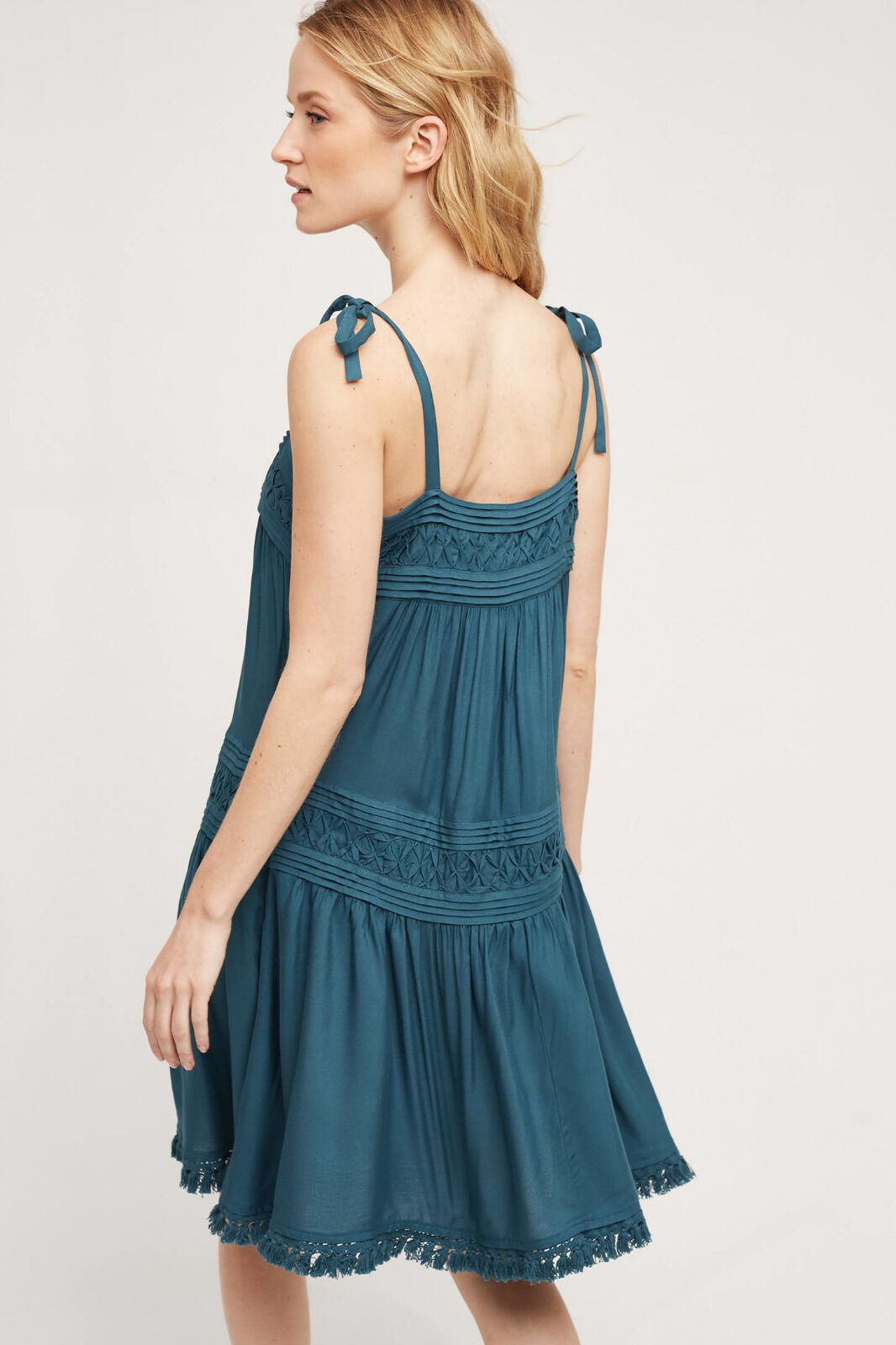 NWT Anthropologie Anthropologie Anthropologie Senna Dress, by Floreat - bluee, size M 29ee53