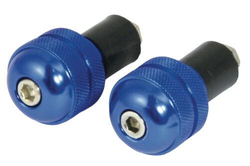paire 18 mm ID Bar Ends SUZUKI RV 125 VANVAN ronde bleu