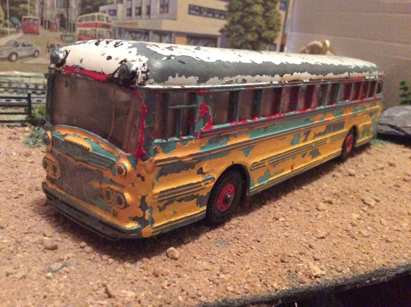 Dinky 949 Wayne Wayne Wayne autobús Modelo Recto para restauración c8bbb1