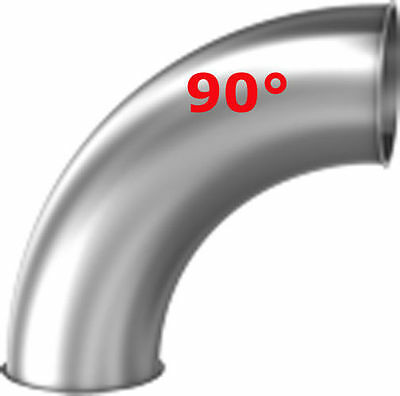 13544 Pelletsrohr - Bogen 90° DN 100 Stahl