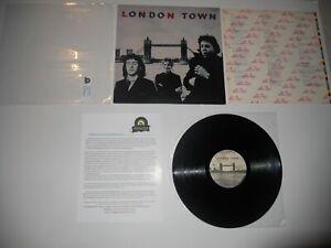 Wings-London-Town-Paul-McCartney-1st-JG-VG-039-78-Analog-ULTRASONIC-Clean
