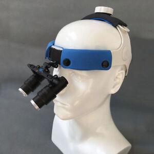 4X-Dental-Surgical-Medical-Loupes-Headband-Binocular-Glasses-Magnifier-420mm