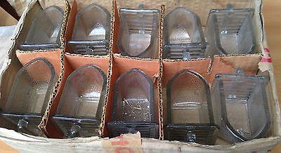 5kleine Glasschütten, Vorratsschütten