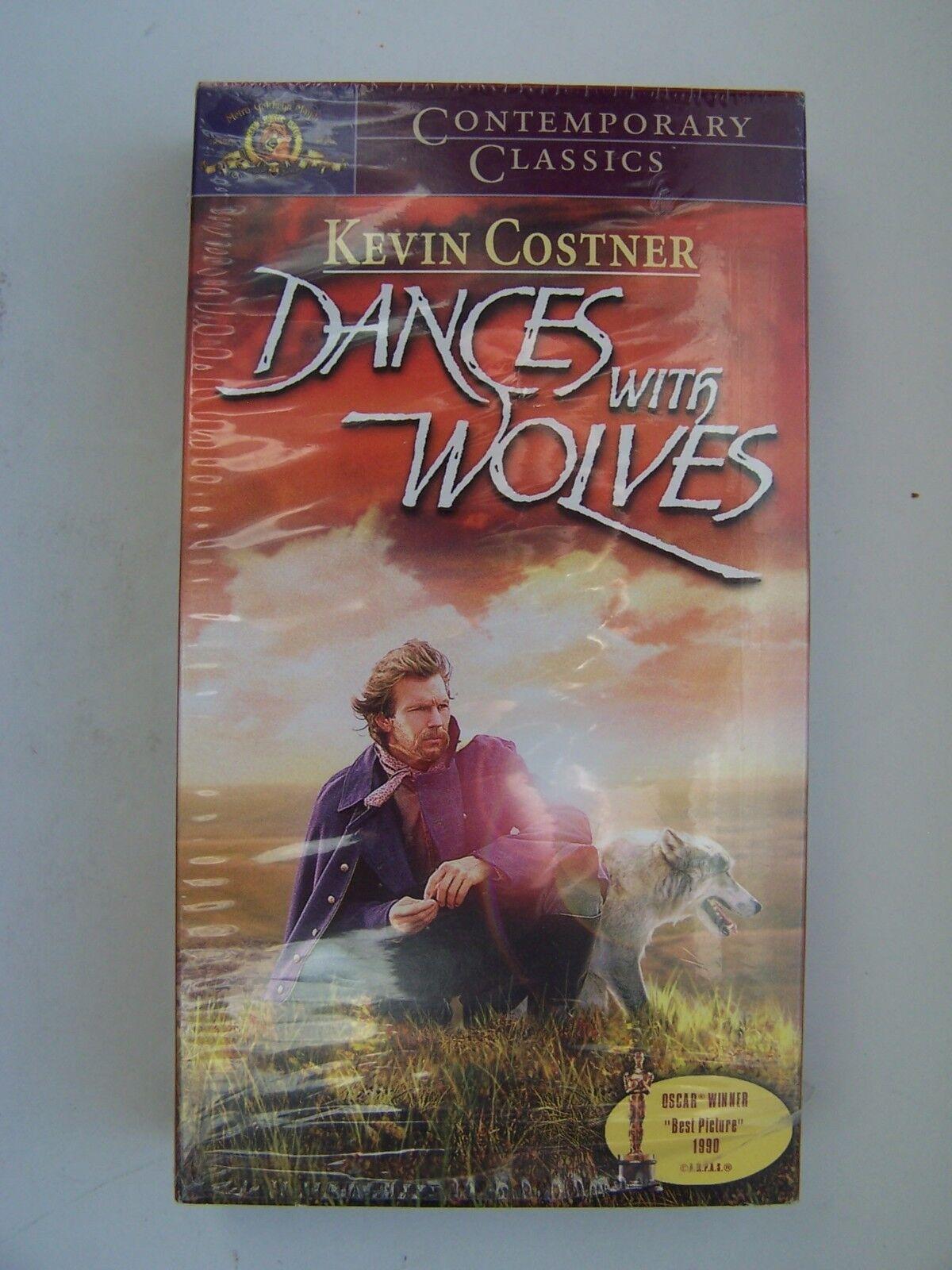 Dances With Wolves VHS Contemporary Classics Edition Ke
