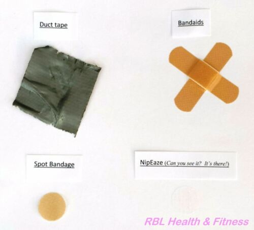 """36-144pc NipEAZE Nipple Protectors Anti-Chafing Protection for Surfers-3//4/"""" size"""