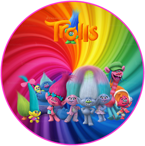 Trolls Personalised Cake Topper