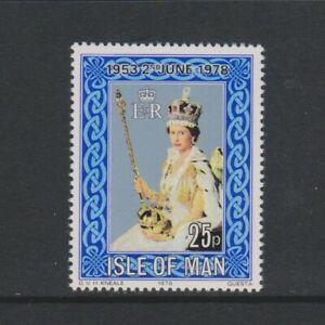 Ile-de-Man-1978-Coronation-Tampon-MNH-Sg-132