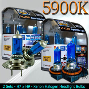 xenon hid halogen headlight bulbs 2009 2010 mazda 6 high low beam ebay. Black Bedroom Furniture Sets. Home Design Ideas