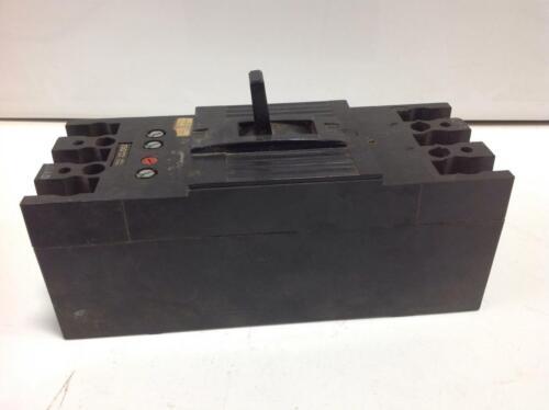 GENERAL ELECTRIC 3POLE 600VAC 225A CIRCUIT BREAKER E11592-R