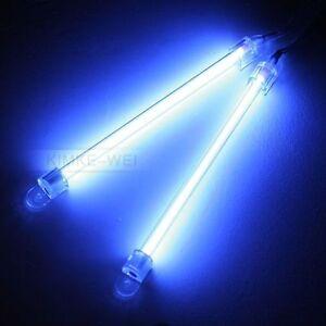 2x neonr hre lampe innenbeleuchtung f auto blau 12v ebay. Black Bedroom Furniture Sets. Home Design Ideas