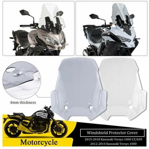 For Kawasaki Versys 650 1000 LT KLE650 2012-2018 Windscreen Windshield Protector