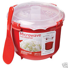 Sistema Red Microwave Klip-It Rice Steamer 2.6L 18011100