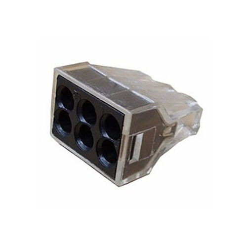 6POS WAGO 773-166 TERMINAL BLOCK PLUGGABLE 18-12AWG 50 pieces