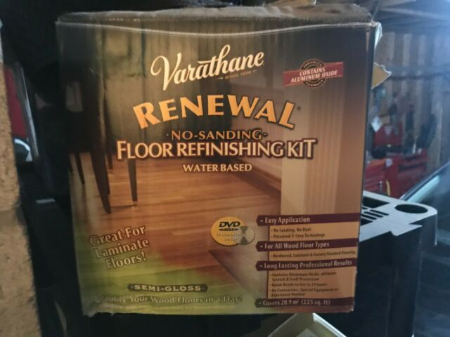 Varathane Renewal Wood Floor Restoring System Semi Gloss For Sale