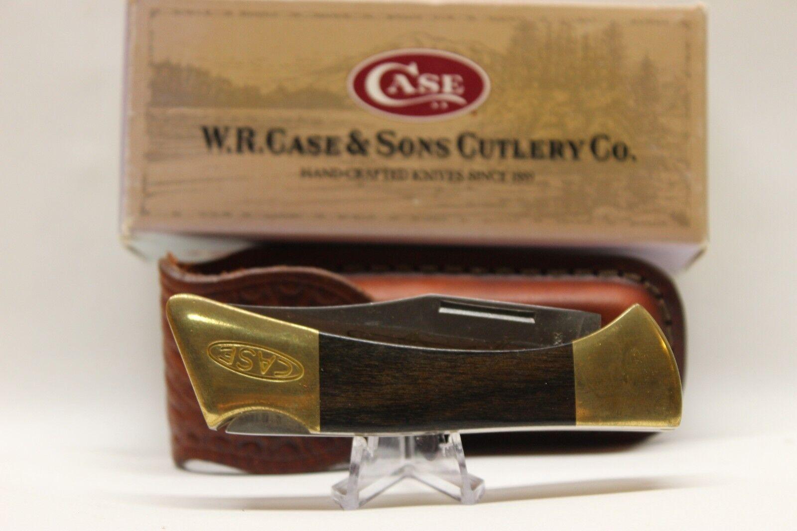 Case XX Folding Knife #00169 P158LSS Lockknife and Sheath NIB 1999 Mako Shark
