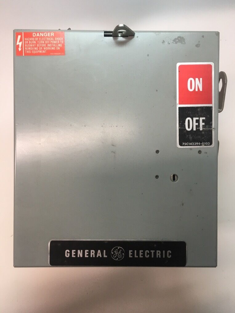 Details about  /LOT OF 3 GENERAL ELECTRIC FUSES GF6B60 600V 60A USED