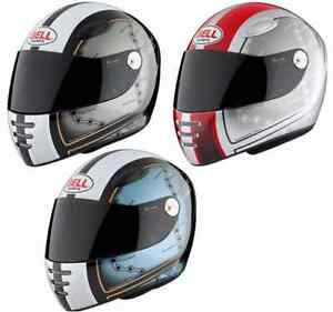 af888028dc791 Bell M1 Isle of Man Motorcycle Helmet Black Red Blue 5  Sharp Rating ...