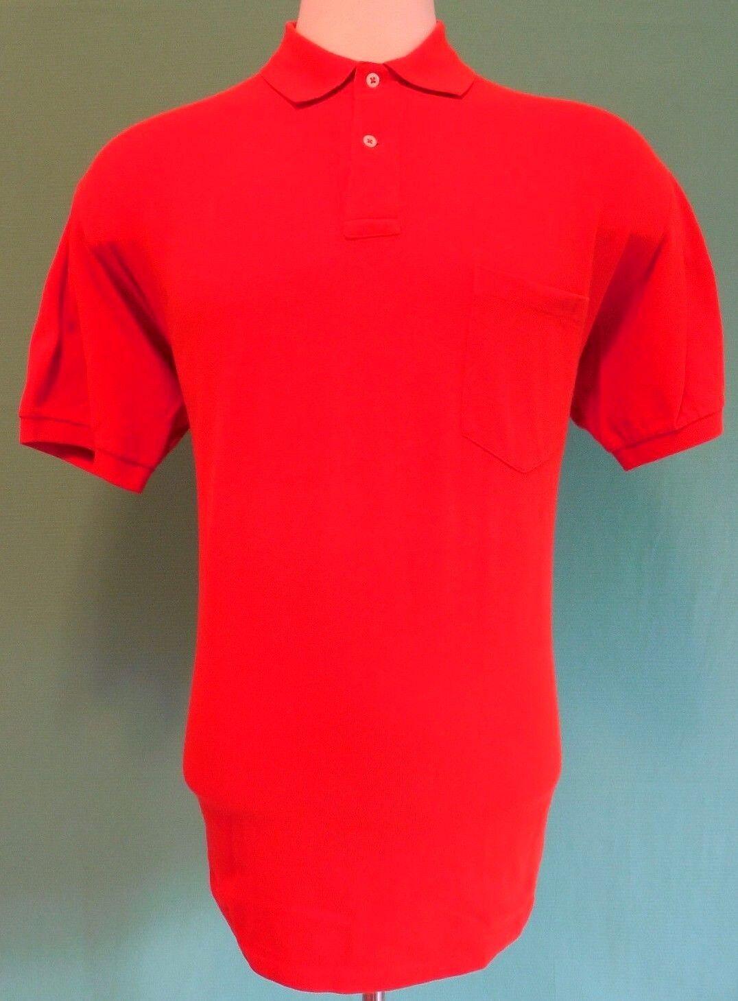 237d6f8a Polo Ralph Lauren Polo Shirt orange Mens Cotton Vintage USA Pony Large Sz  Size L nsgsxc3096-Casual Shirts & Tops