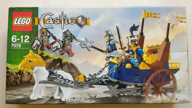 LEGO 7078 Castle King's Battle Chariot - New In Box - Free Gifts Offer!