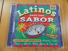 Latinos Pero Con Sabor LUIS MIGUEL DEL AMARGUE RAFFY MATIAS MANOLE CLARI SOTO