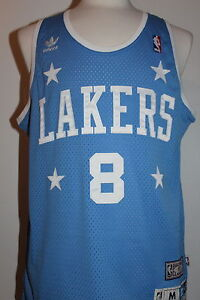 low priced ce3f4 a0712 Details about Kobe Bryant Los Angeles Lakers Hardwood Classics #8 Swingman  Jersey Light Blue