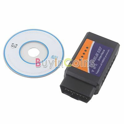 OBD II 2 ELM327 Wifi Auto Car Diagnostic Interface Scanner For Cell Phone RT