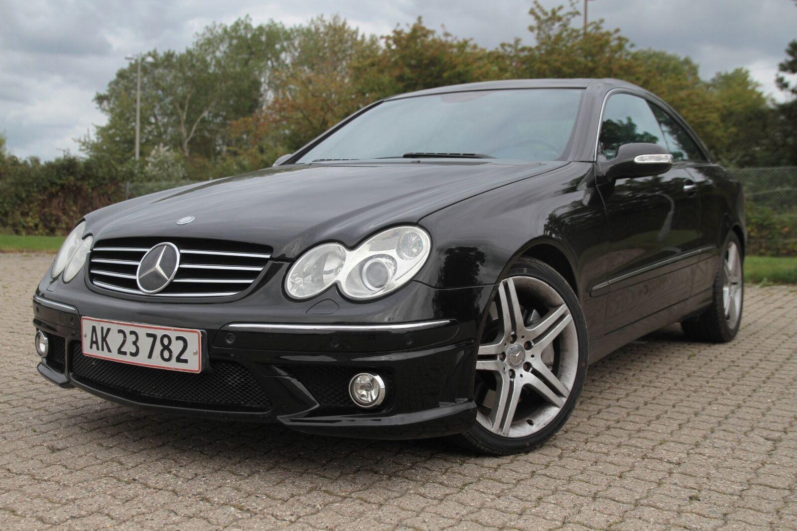 Mercedes CLK500 5,0 Avantgarde aut. 2d - 119.800 kr.