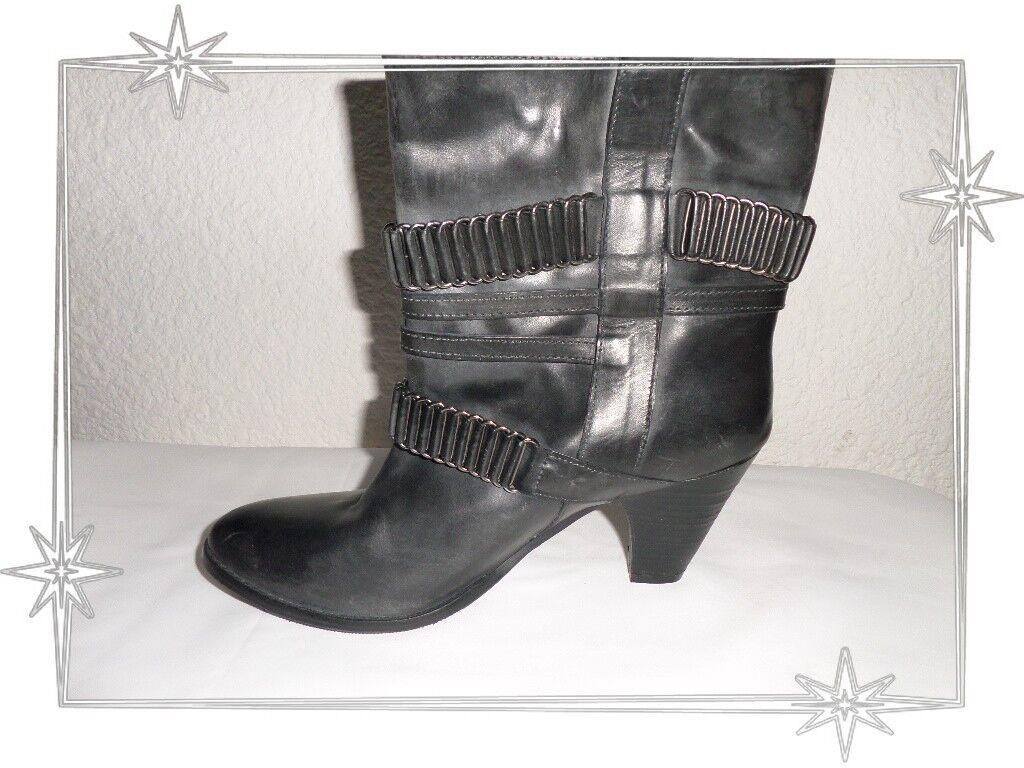 Grandes zapatos con descuento Magnifiques Bottines Grises Fantaisies Cosmoparis Modèle Bianka  P 41