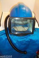 Sandblasting Respirator Safety Helmet With Cape Hose Air Supplied Design 1
