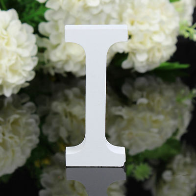 Wooden Wood Letter Alphabet Word Free Standing Wedding Party Home Decoration