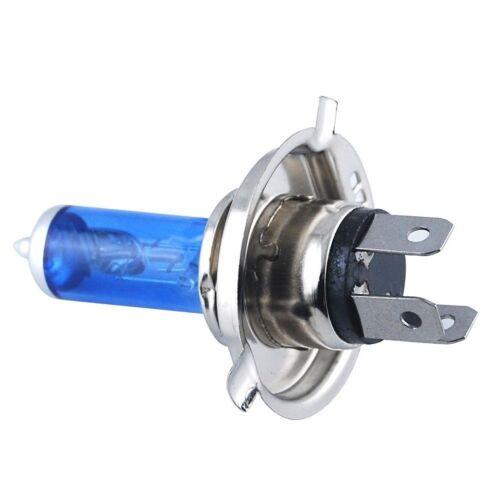 Blue H4 472 Headlight Sidelight Bulbs Daewoo Nexia
