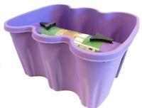 Design Blumenkasten Zum Einhängen An Ein Geländer, Farbe: Lavendel