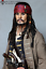 thumbnail 3 - 1:1 Life Size Jack Sparrow Statue Johnny Depp Prop Pirates Movie Display Style-2
