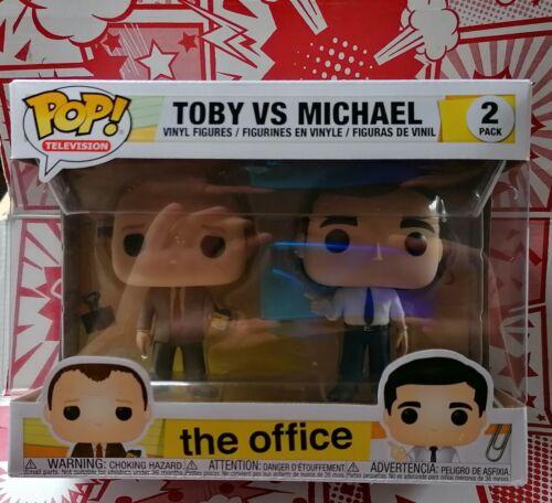 Funko POP l'ufficio Toby VS Michael Confezione da 2