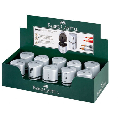 Faber-Castell Single Grip 2001 Trio Sharpener