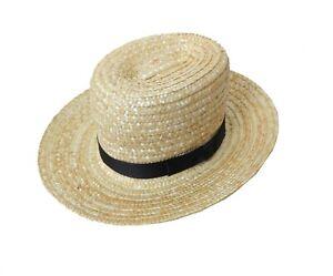Size Child/'s through XXL Exact Replica Amish Straw Hats