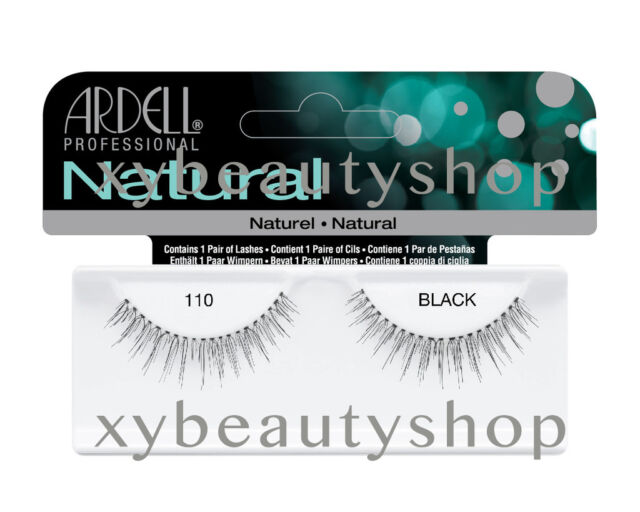 f26f90dccbf 10 Pairs Ardell Natural 110 Fashion Lash Fake Eyelashes Black | eBay