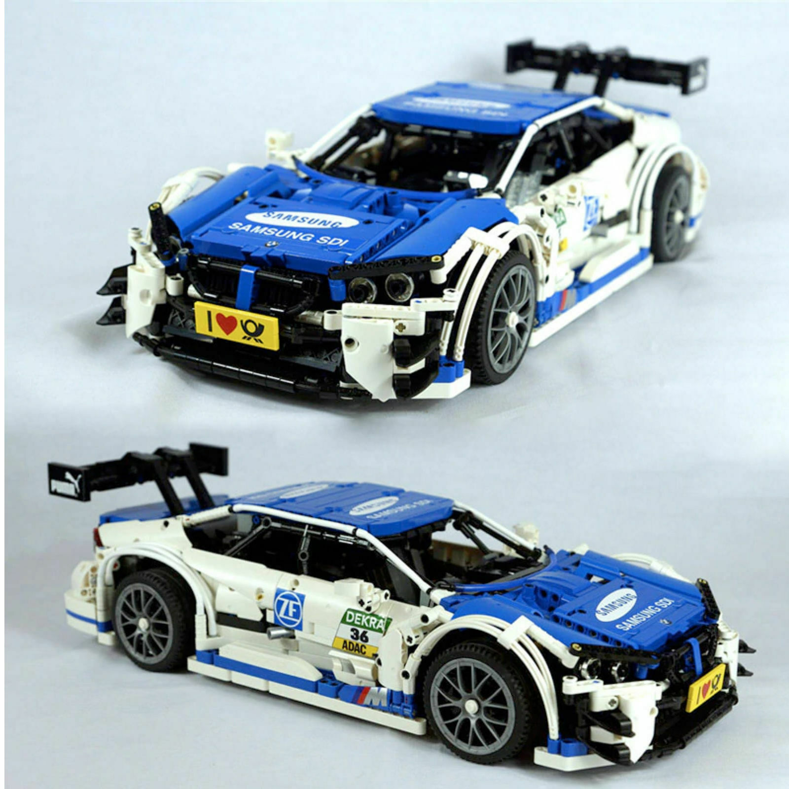 BMW M4 DTM-Cocherera móvil Samsung bloques de construcción ladrillos Technic Juguetes Nuevos