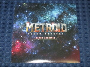 RARE-NEW-Metroid-Samus-Returns-Limited-Bonus-Soundtrack-Music-Archives-CD-JAPAN