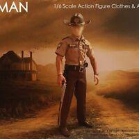 2014 Redman 1/6 Scale Sheriff Police Uniform Set 2 For 12 Action Figure Rm02