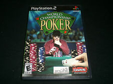 """World Championship Poker (PlayStation 2) Complete """"Great Condition"""""""