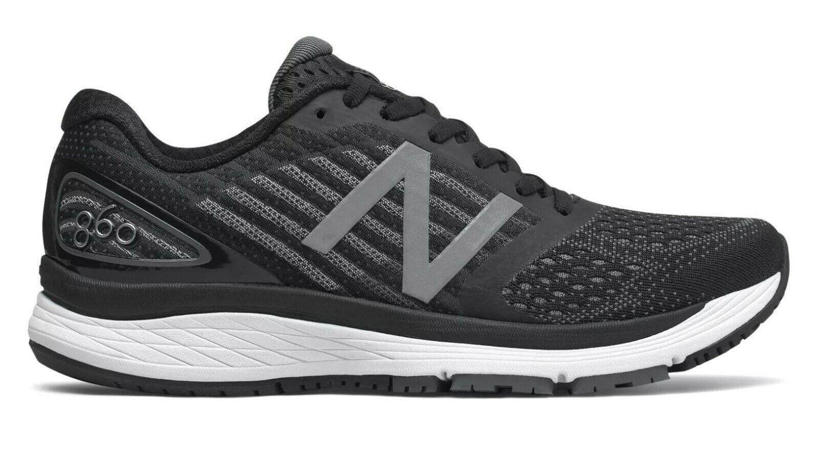LATEST RELEASE New Balance 860 Womens Running shoes (D) (W860BK9) (003)