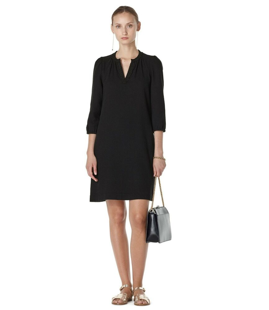 A.p.c Robe Noire-dorothy, Taille 34 ** Bnwt **