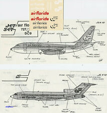 Decals 1//144 Boeing 737-2T4 Air Florida by ATP//Airliners America