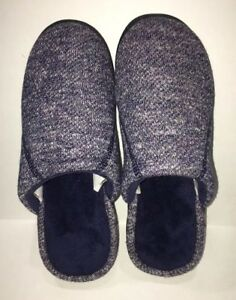 f333ee8c0 Image is loading NEW-ISOTONER-Womens-Signature-NAVY-Slippers-W-Enhanced-