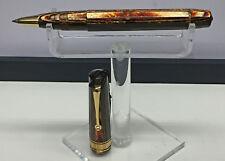 Omas Paragon Arco Brown Rollerball Pen 8701 Beautiful!!