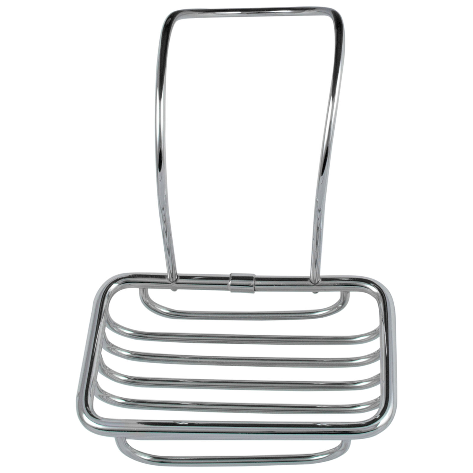 Soap Holder for Over Edge Bath Tub Chrome Plated Claw Foot or Any