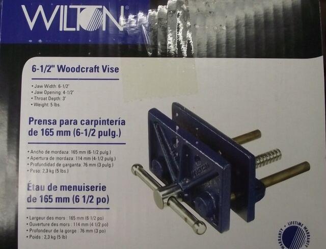 """Wilton 676 Utilitaire ATELIER Etau 6-1//2/"""" Mâchoire Avec Swivel Base"""