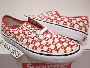 vans supreme checkered \u003e Clearance shop